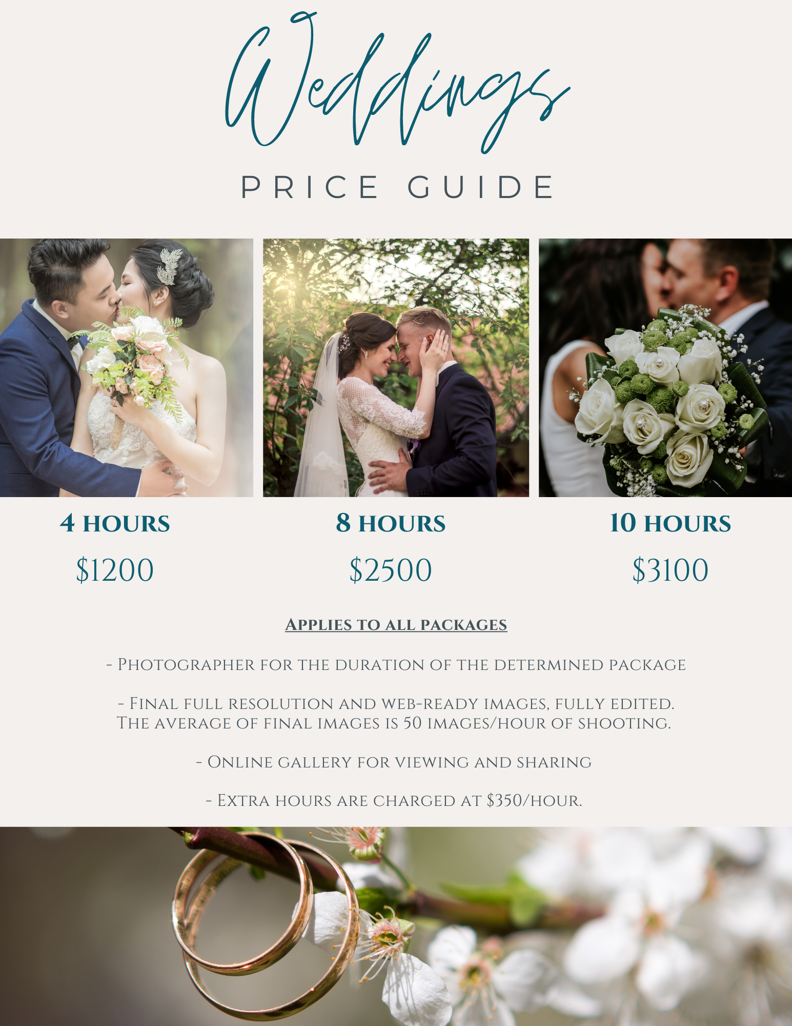 events & photo sessions